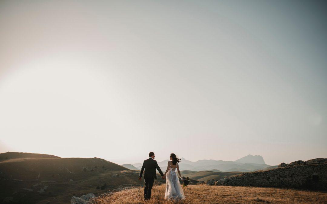 Wedding Photo Shoot In Nature